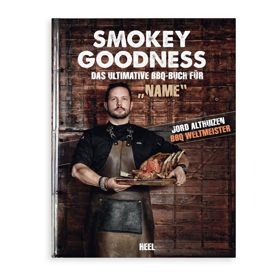 Individuellbabykind - Buch mit Name Smokey Goodness Grillbuch Hardcover - Onlineshop YourSurprise