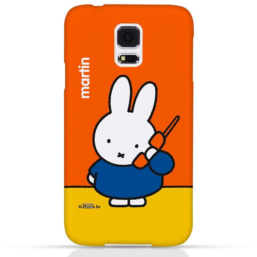 Miffy Handyhüllen - Samsung Galaxy S5 - Fotocase rundum bedruckt