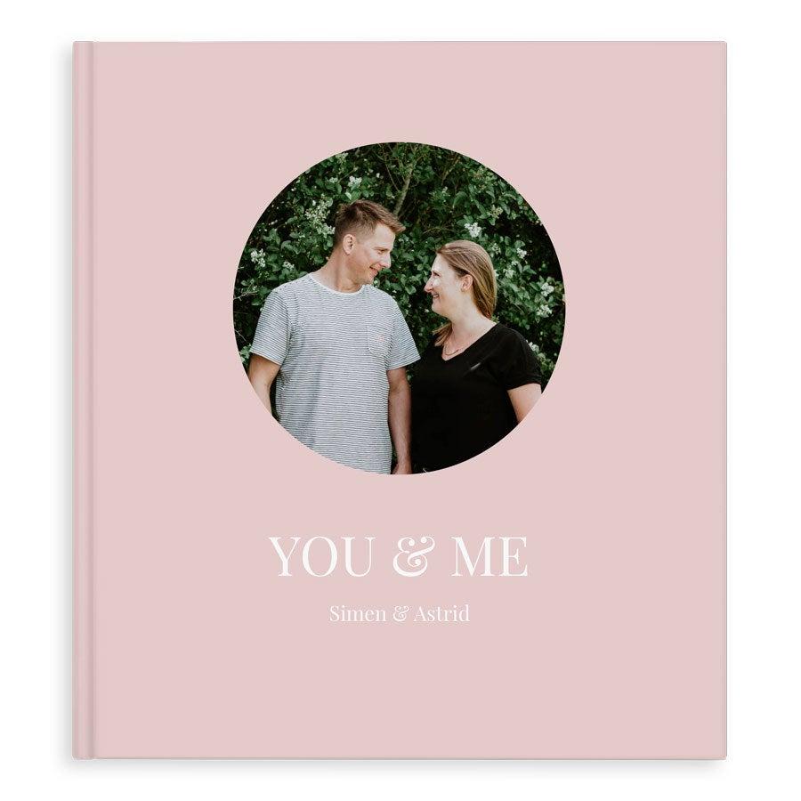 Fotobok - Vår kjærlighet - XL - Hardback - 40 sider