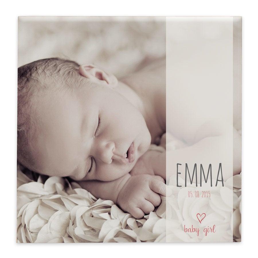 Cadre naissance personnalisé - Céramique