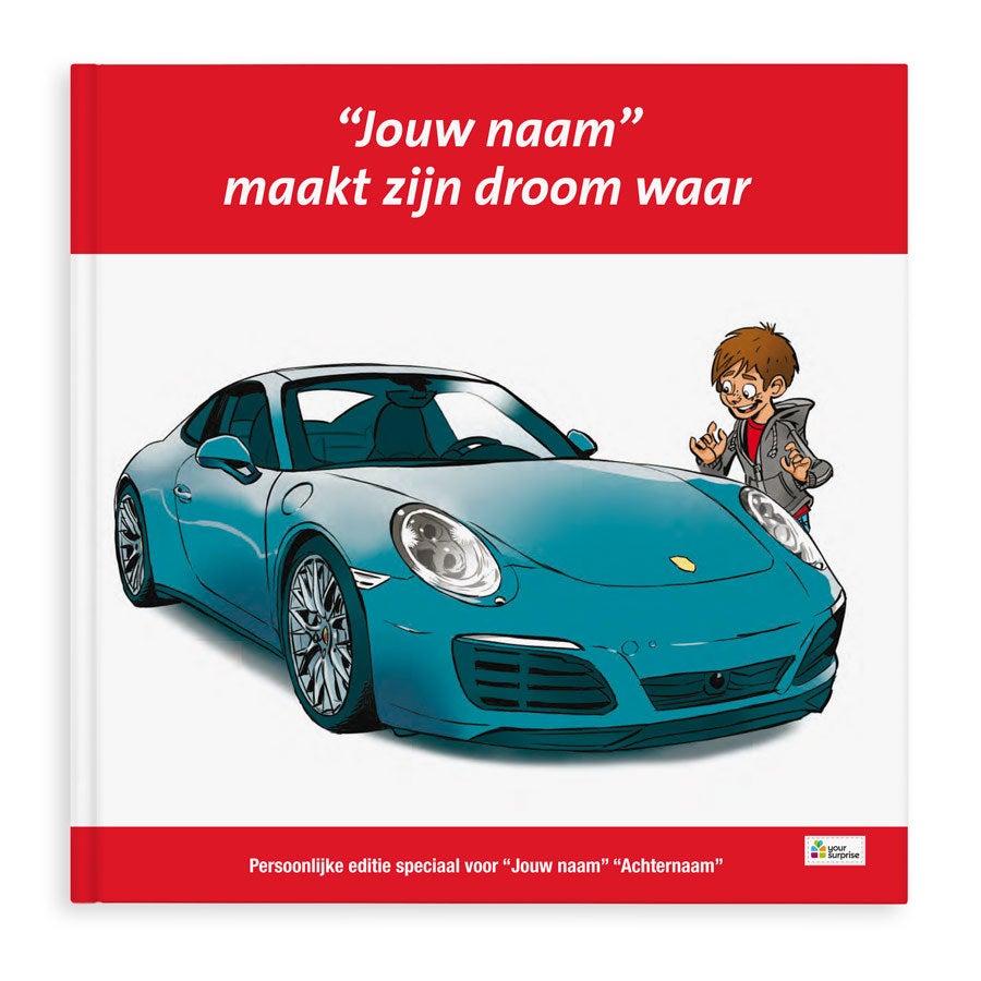 Boek met naam - Porsche 911  - Jongensversie - Hardcover