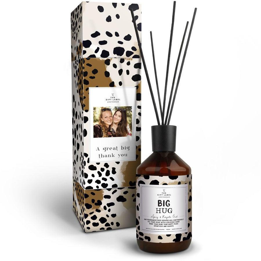 Darčekový štítok - Aromatické tyčinky - Big Hug
