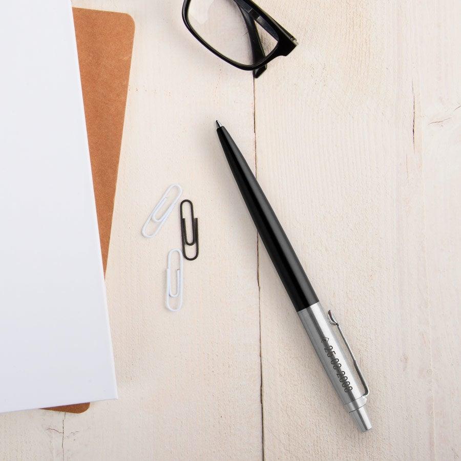 Individuellbesonders - Parker Jotter Kugelschreiber Rechtshänder (Schwarz) - Onlineshop YourSurprise