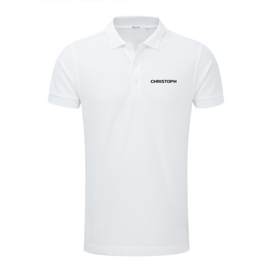 Polo skjorte - Menn - Hvit - S