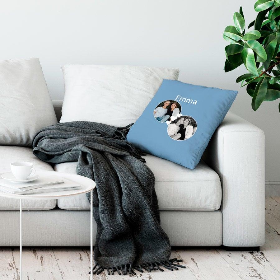 Love Throw-tyyny - Suuri ei täytettävää - Vaaleansininen