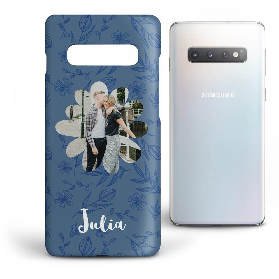 Personlig mobildeksel - Samsung Galaxy S10 - Heldekkende trykk