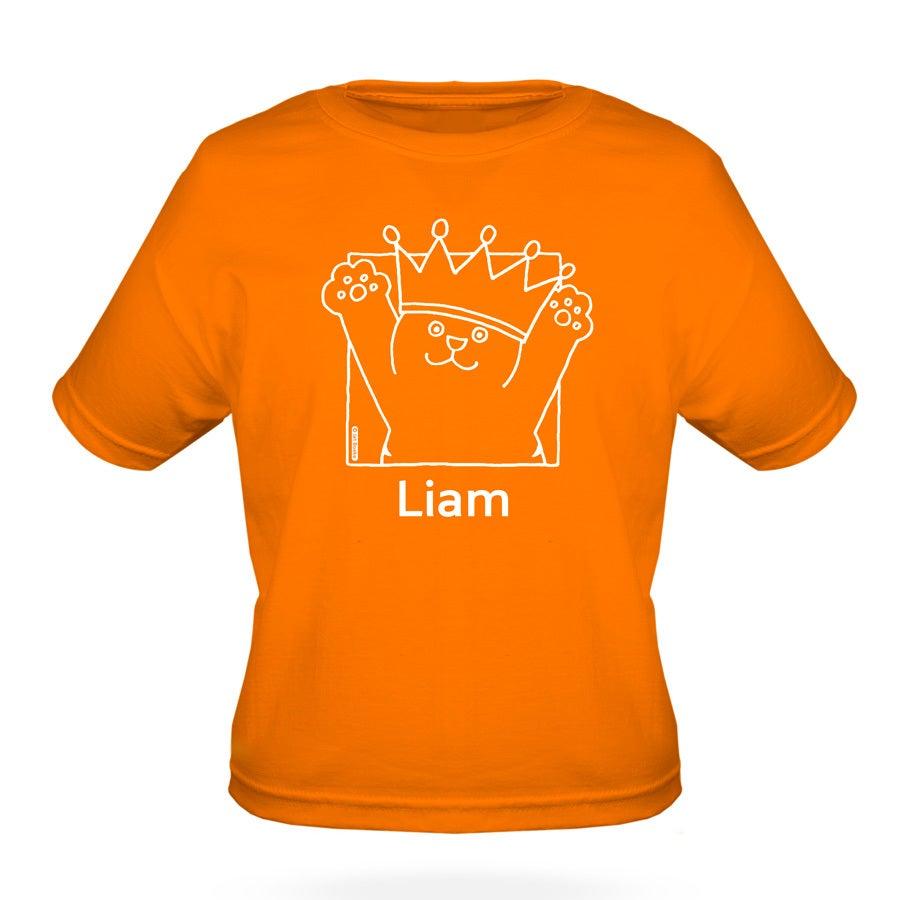 Dikkie Dik - t-shirt - oranje