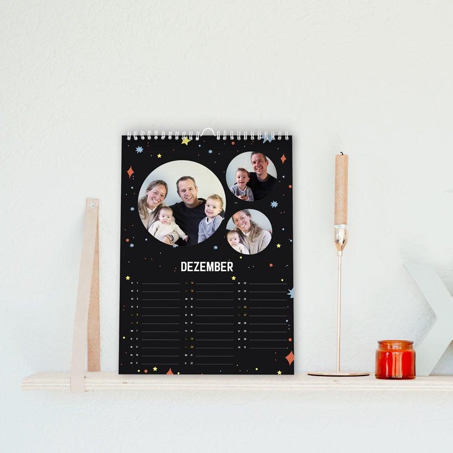 Jahreskalender 2020 - A4 - hochkant