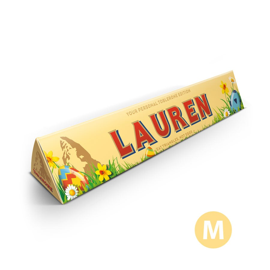 Toblerone chocolate bar - Easter - 200 grams