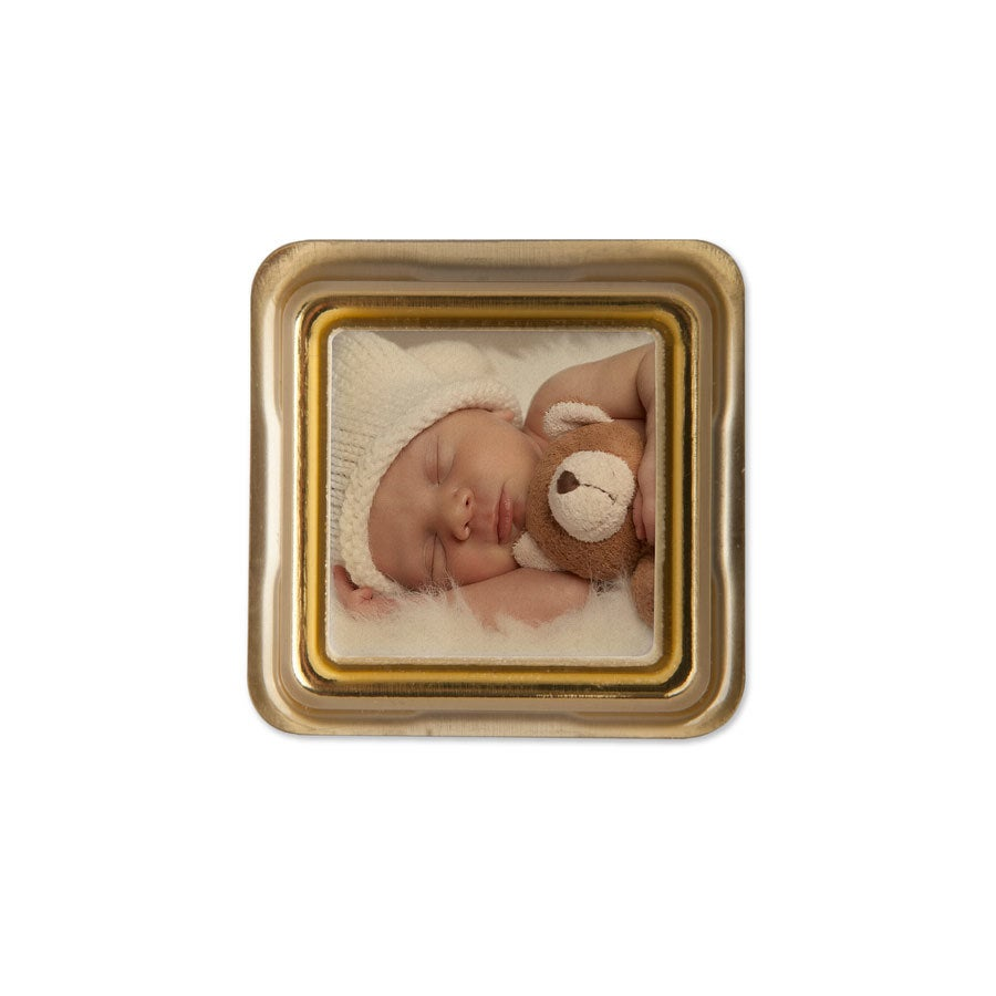 Chocolats photo personnalisés - Cadeau pour invités - 50 pièces - Massif