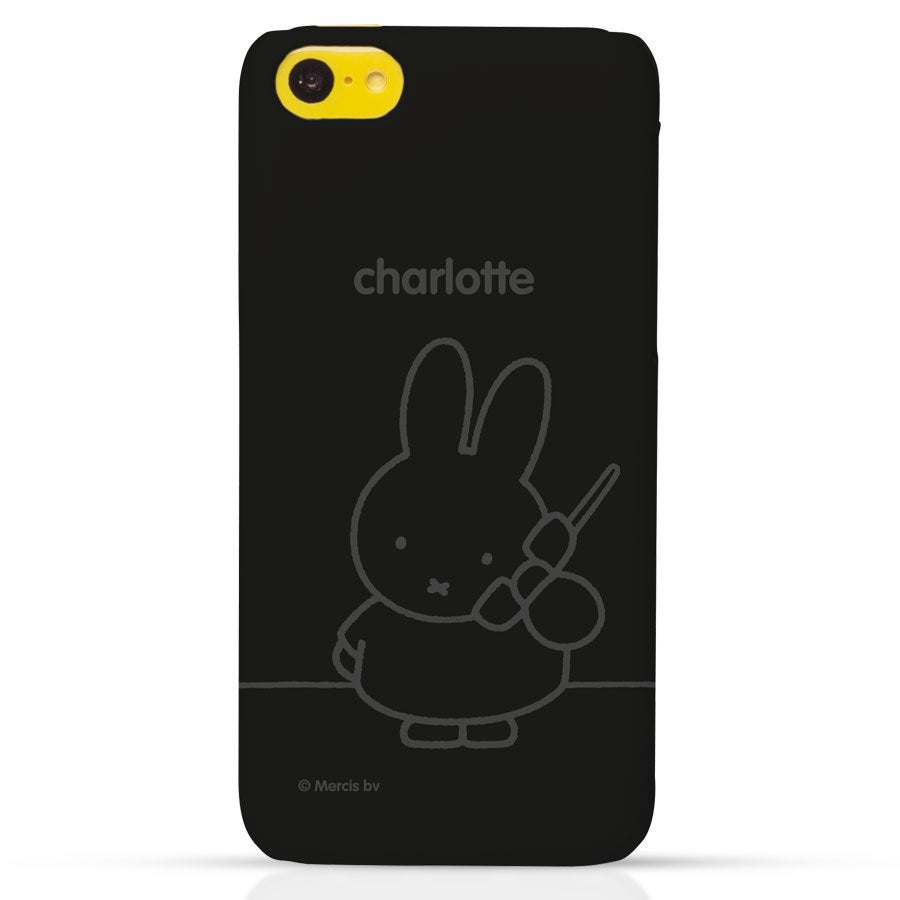 Telefoonhoesje - iPhone 5C - 3D bedrukt - nijntje