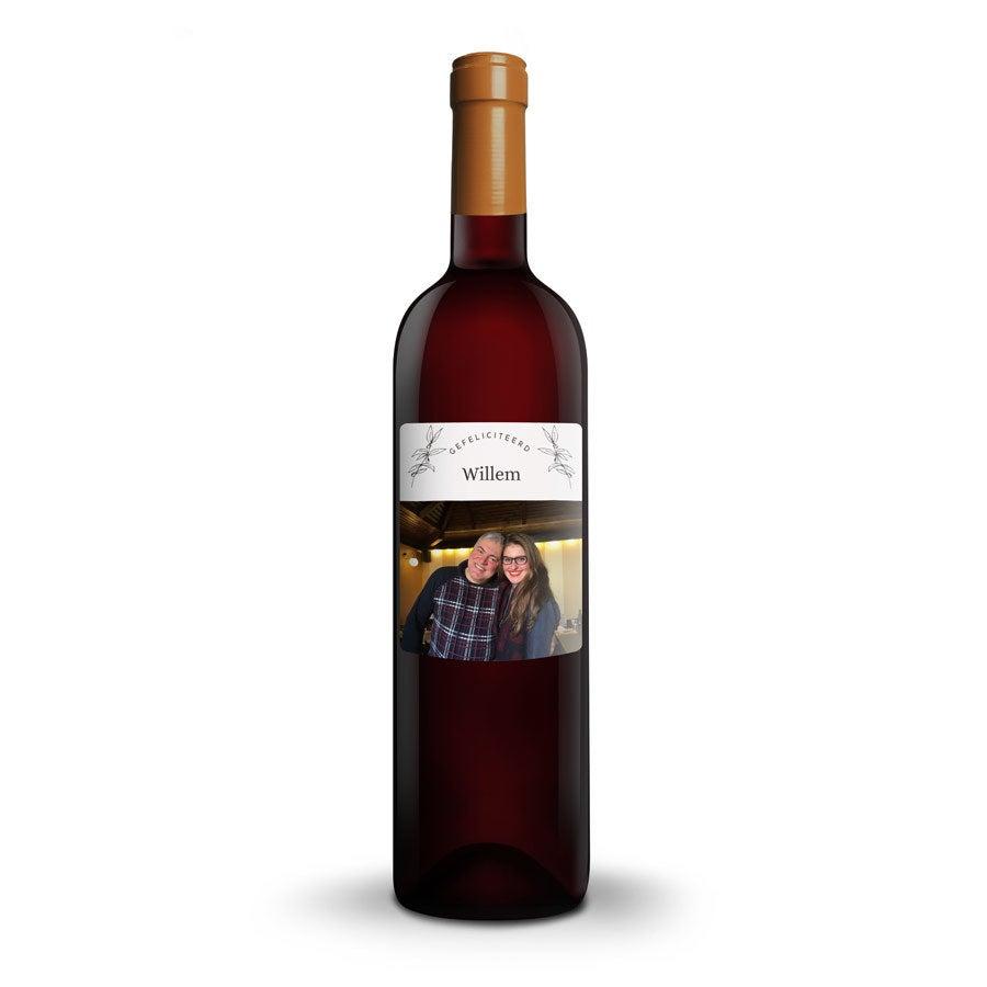 Wijn met bedrukt etiket - Salentein - Malbec