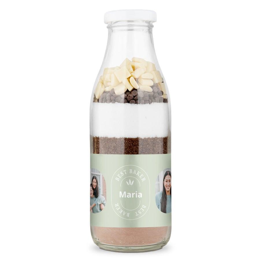 Bakmix i flaska - Double chocolate brownie