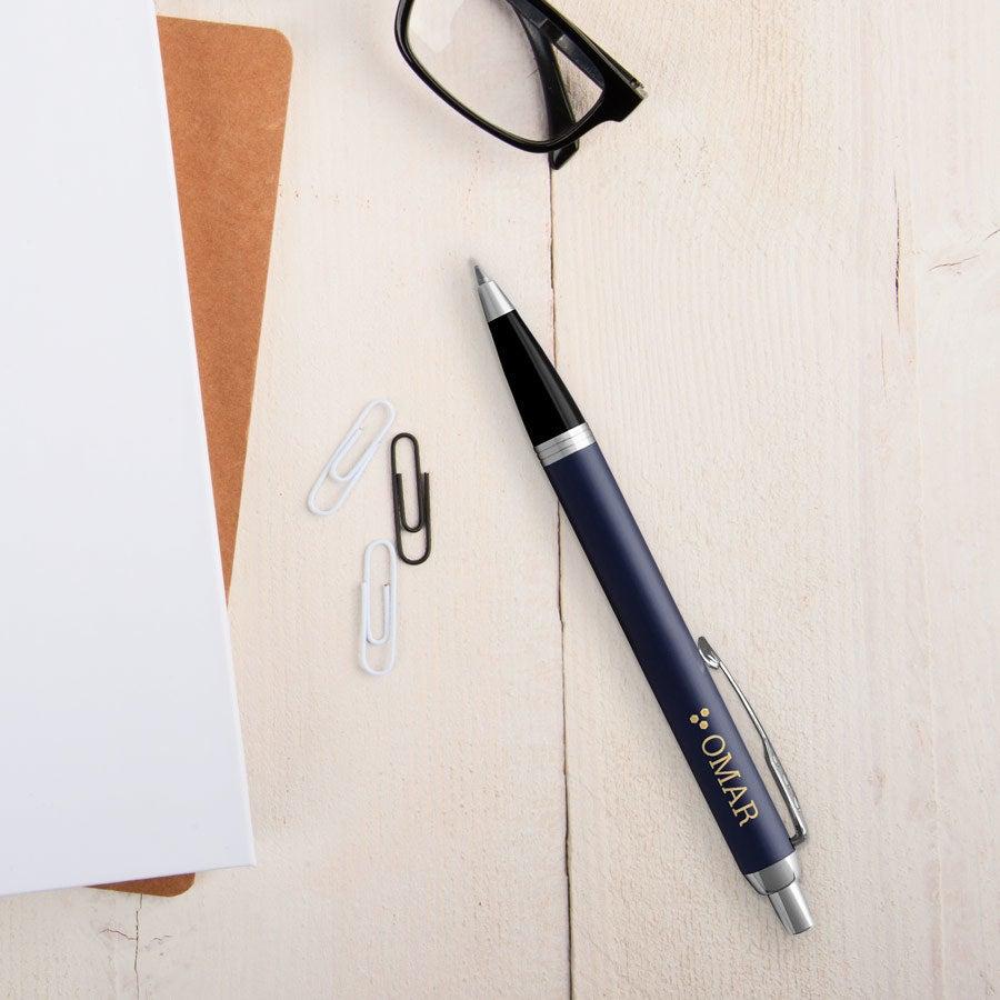 Individuellbesonders - Parker IM Kugelschreiber Rechtshänder (Blau) - Onlineshop YourSurprise