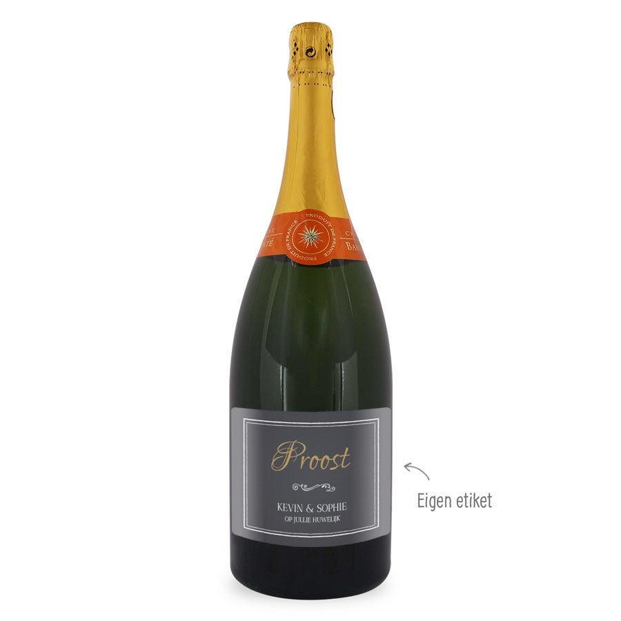 Champagne – Baron Fuenté Brut (1500ml)– Met etiket