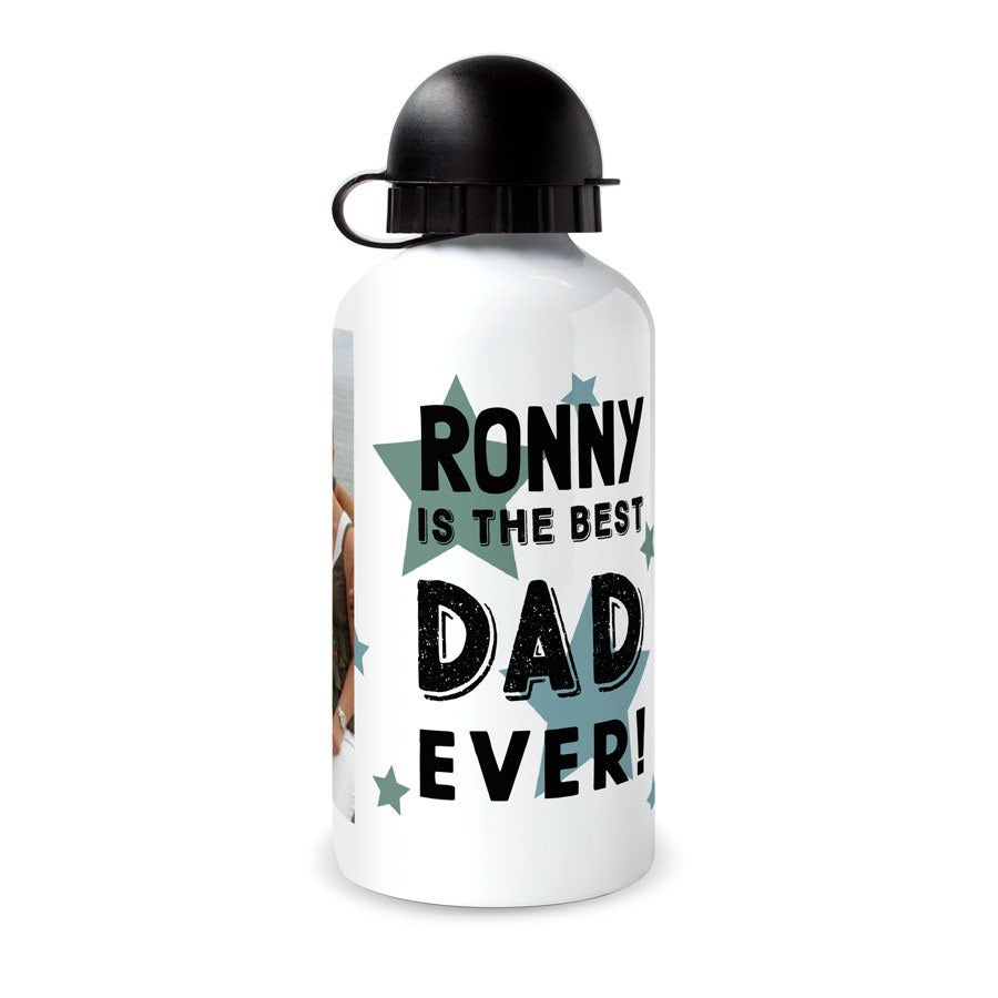 Father's Day water bottle