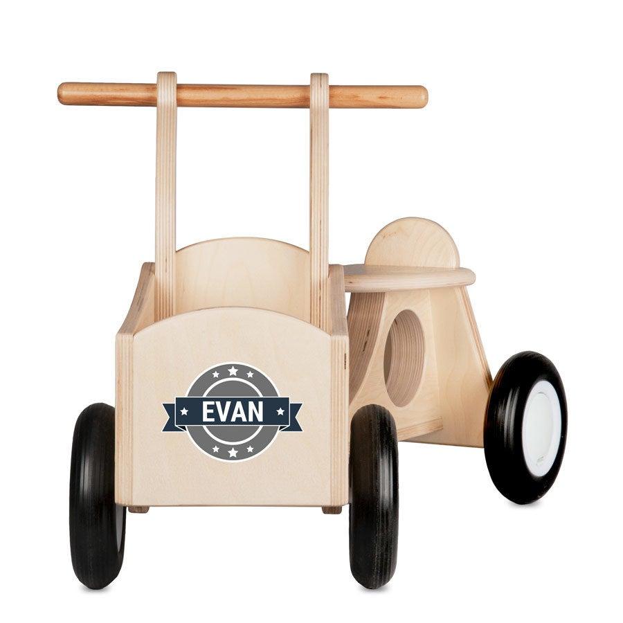Dětské nákladní kolo (dřevo)