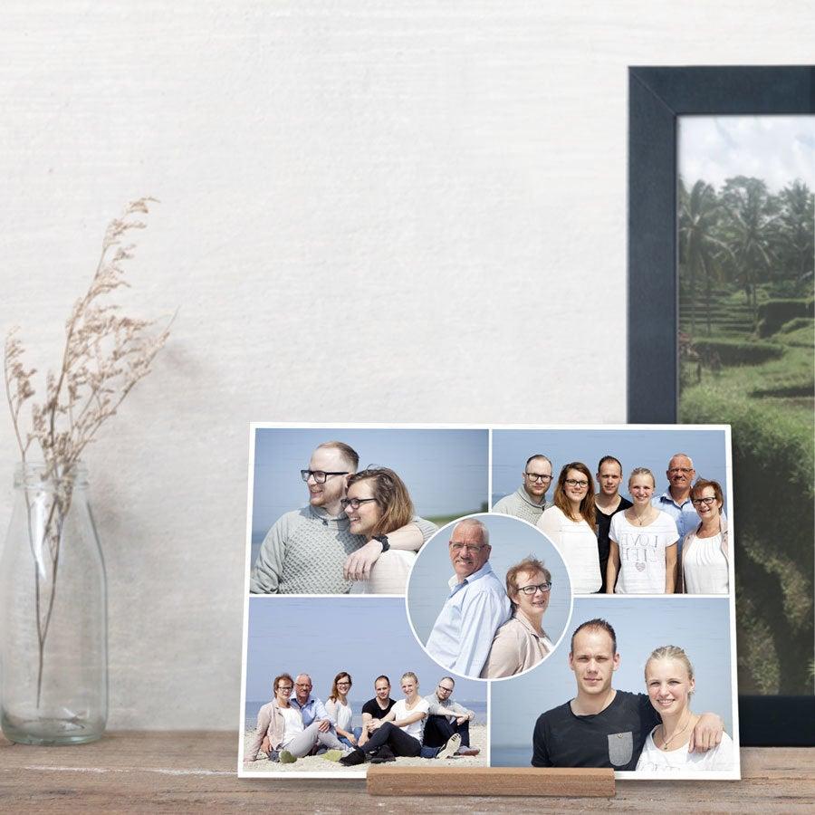 Tarjeta de madera - Horizontal