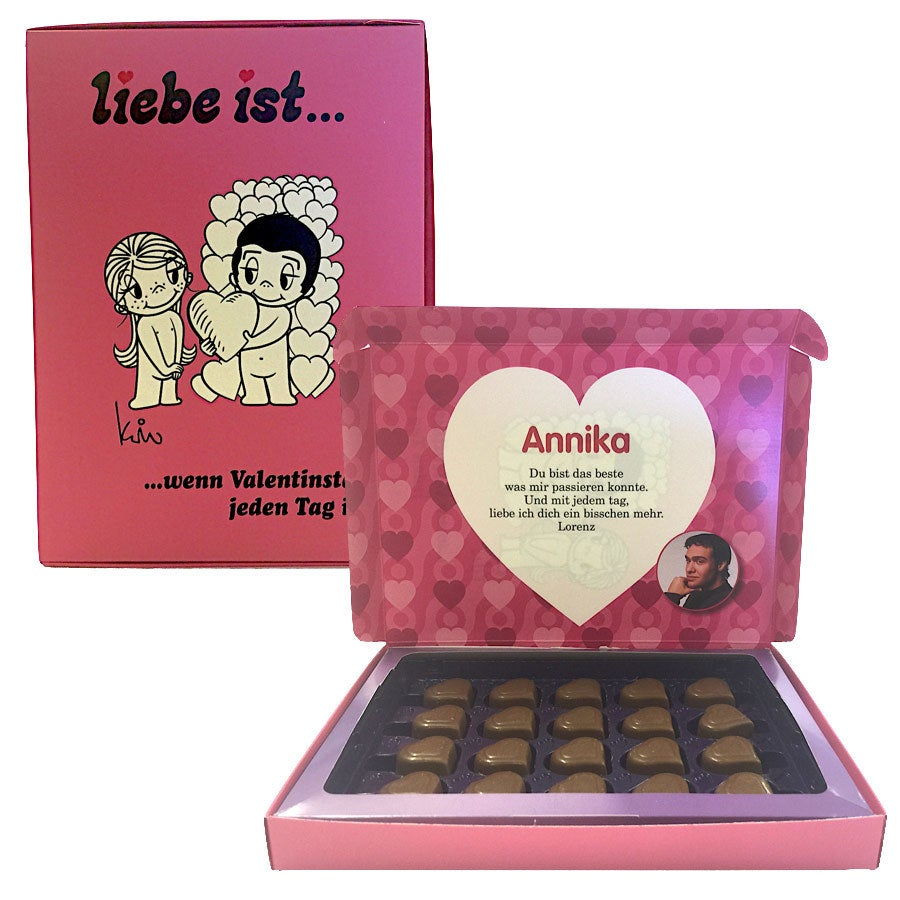 Sag es mit Milka - Liebe ist... ...wenn Valentinstag jeden Tag ist - 110 Gramm