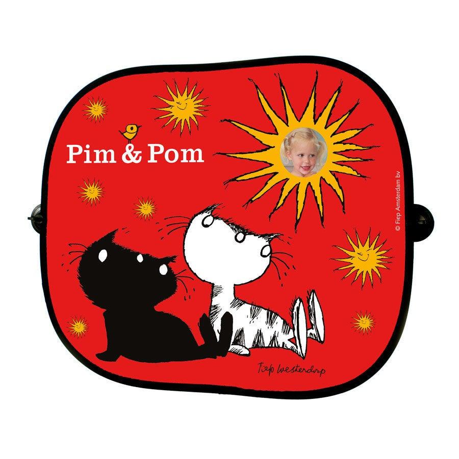 Pim & Pom zonnescherm - 2 stuks