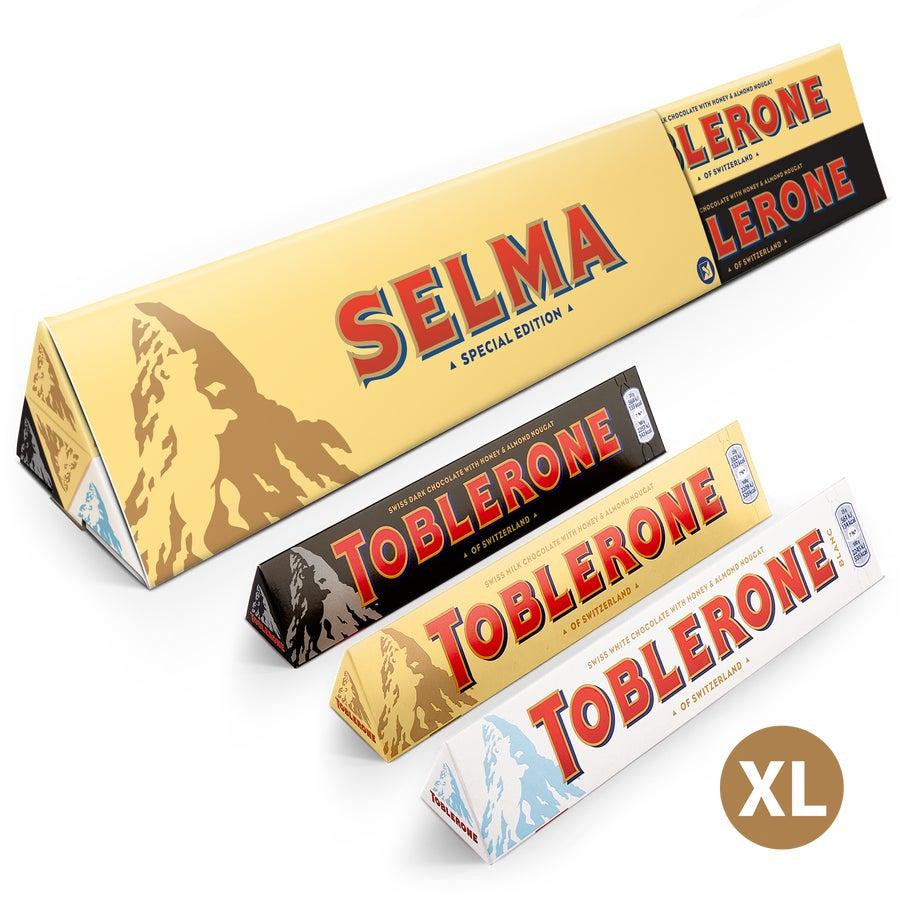 Personlig XL Toblerone Selection-choklad - Allmänt