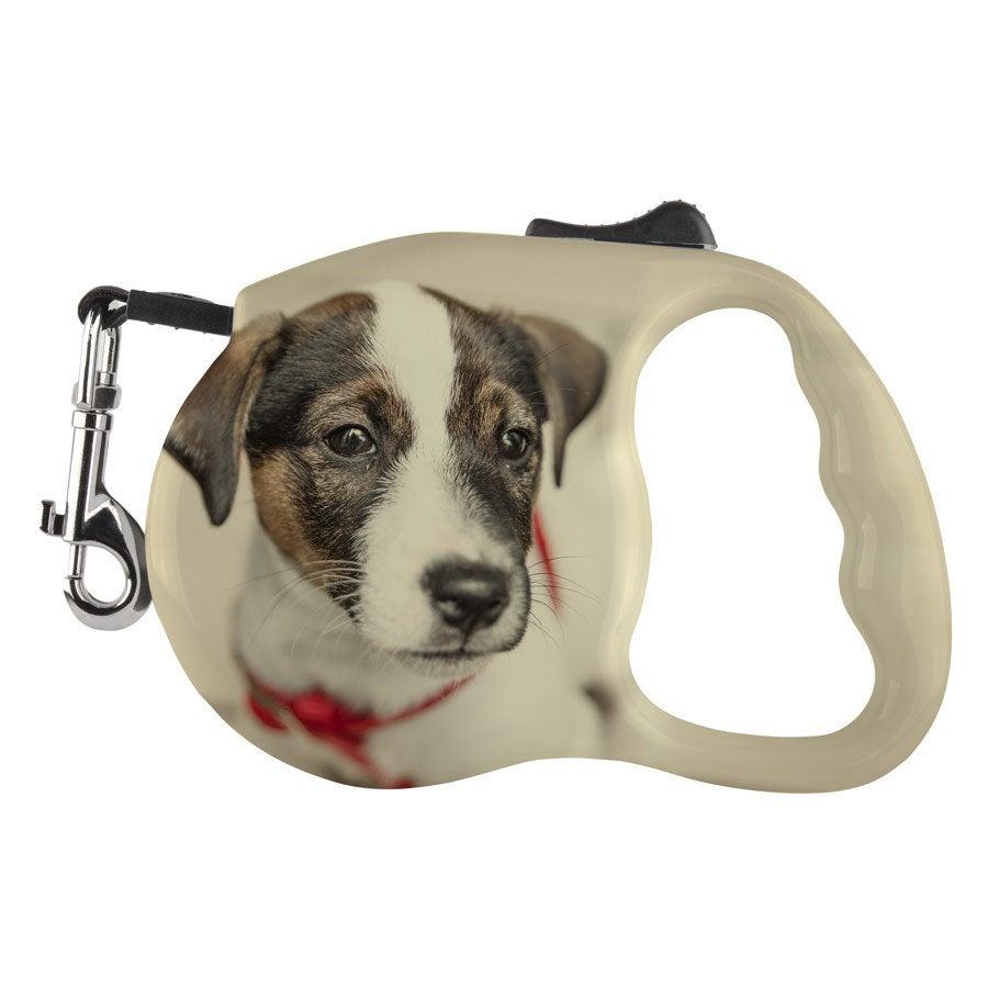 Laisse pour chien - enrouleur - 5 mètre