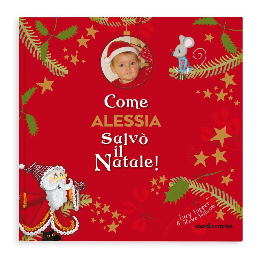 Libro Personalizzato - Salviamo il Natale! - Copertina flessibile
