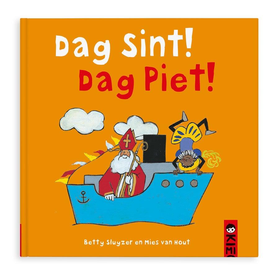 Boek met naam - Dag Sint! Dag Piet! - Hardcover