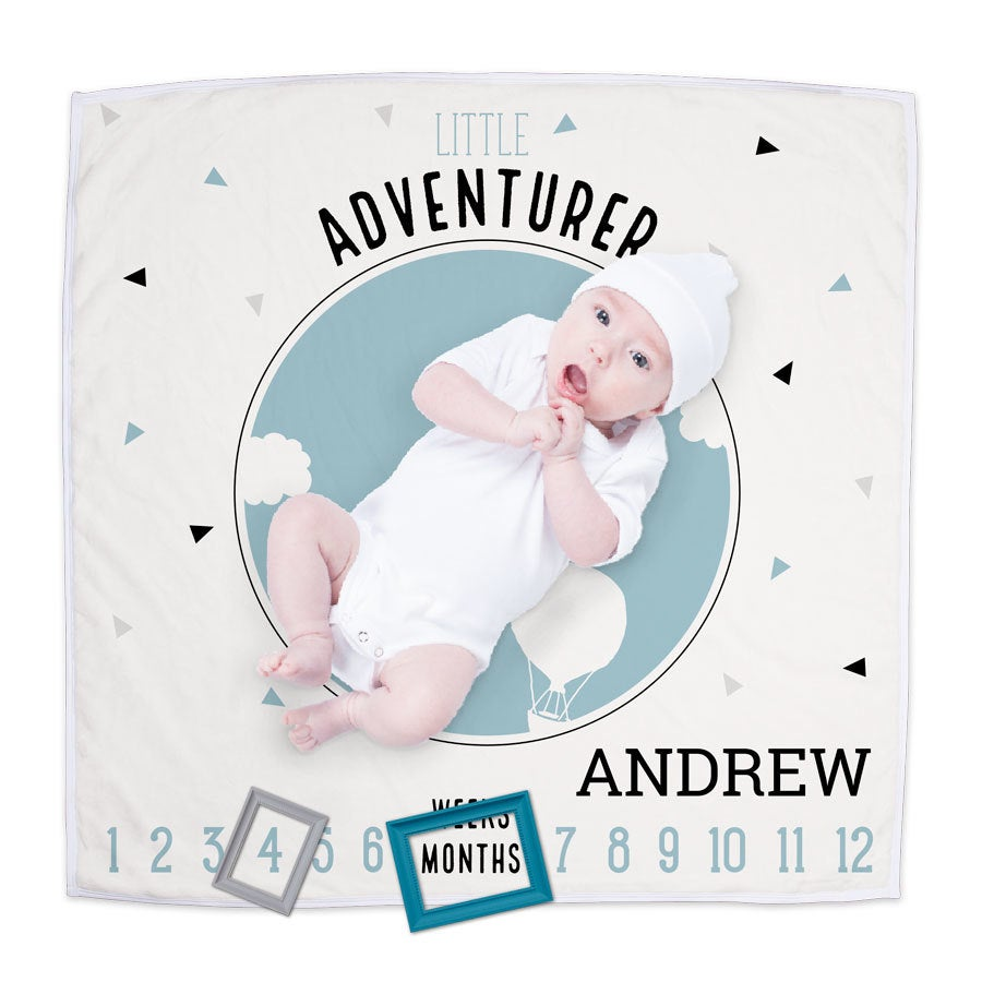 Milestones Baby blanket