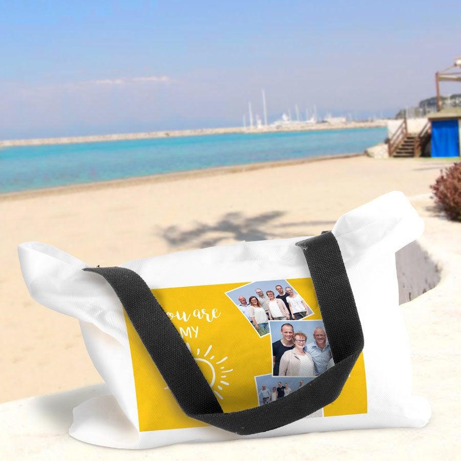 Bolsa de playa con foto