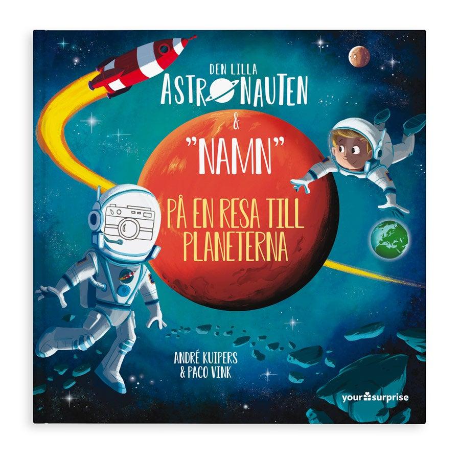 Bok med namn - Den lilla astronauten & Namn på en resa till planeterna – Hardcover