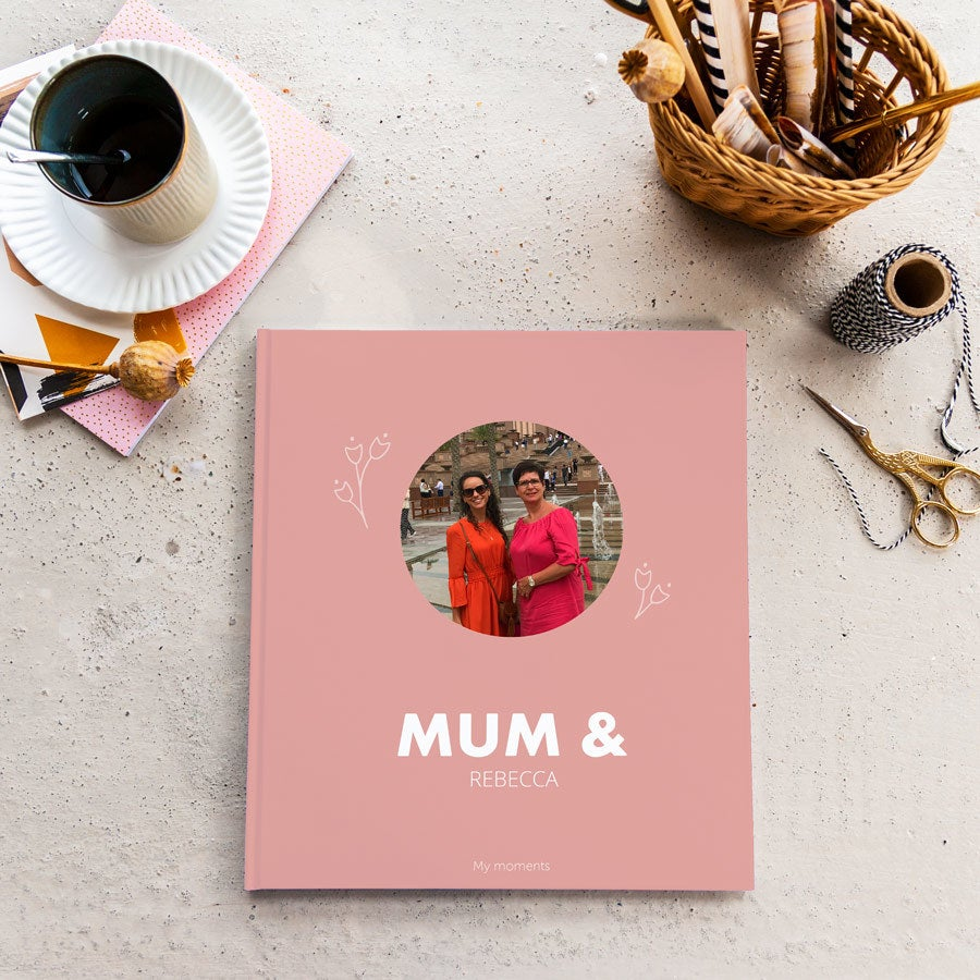 Fotoalbum - Mumie & Me / Us - M - Hardcover - 40 strán