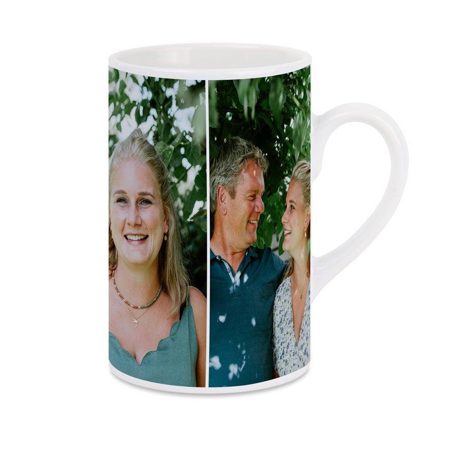 Taza de cerámica con foto - Blanco