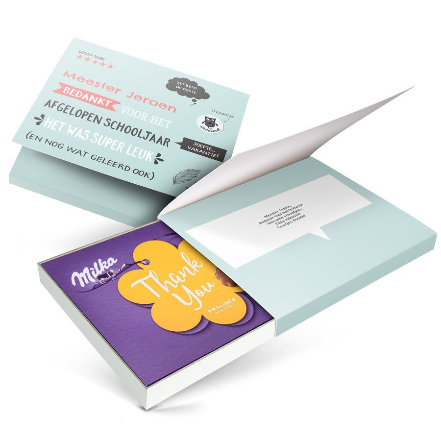 Chocobox - I love Milka! - Juf / Meester