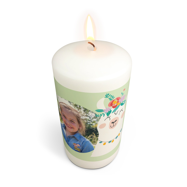 Ehtoollinen kynttilä - 13 x 7 cm