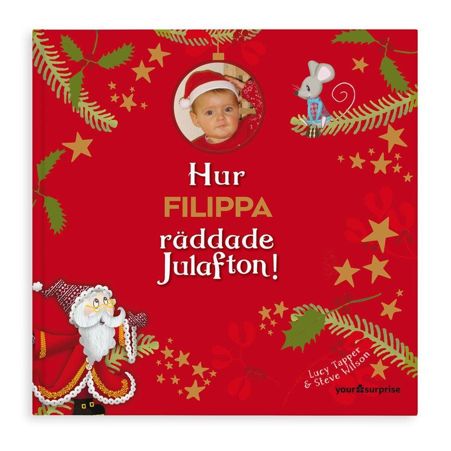 Personlig bok - Att rädda julafton - softcover
