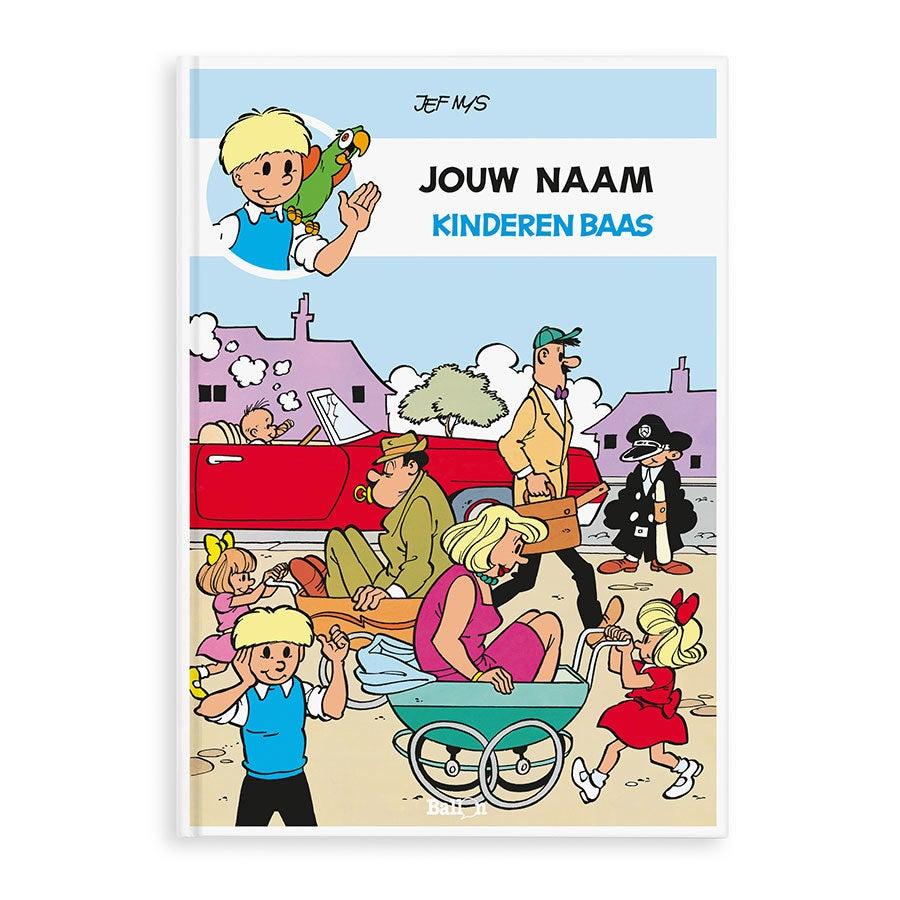 Persoonlijk stripboek - Jommeke 'Kinderen Baas' (Softcover)
