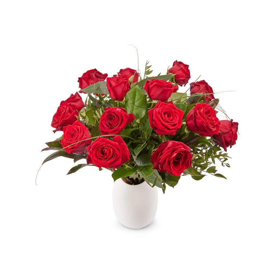 Fleurs - Bouquet de roses rouge - St Valentin