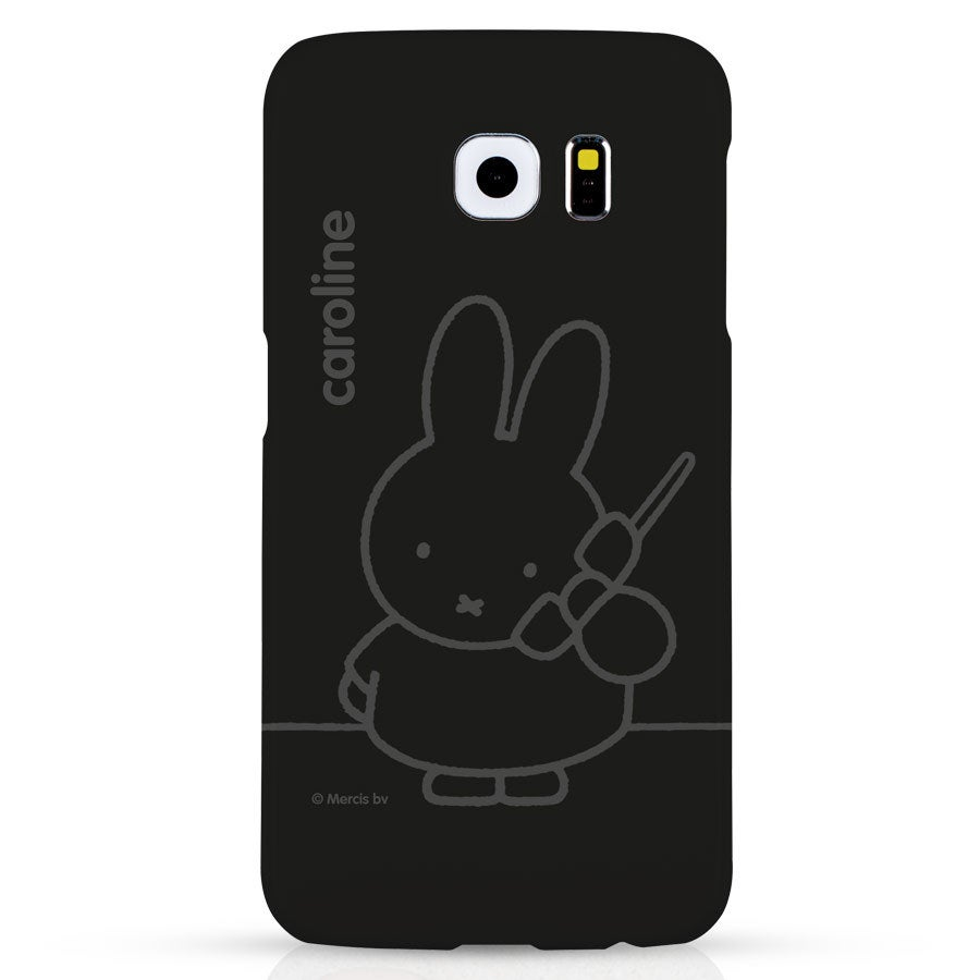 Telefoonhoesje - Samsung Galaxy S6 – 3D bedrukt - nijntje