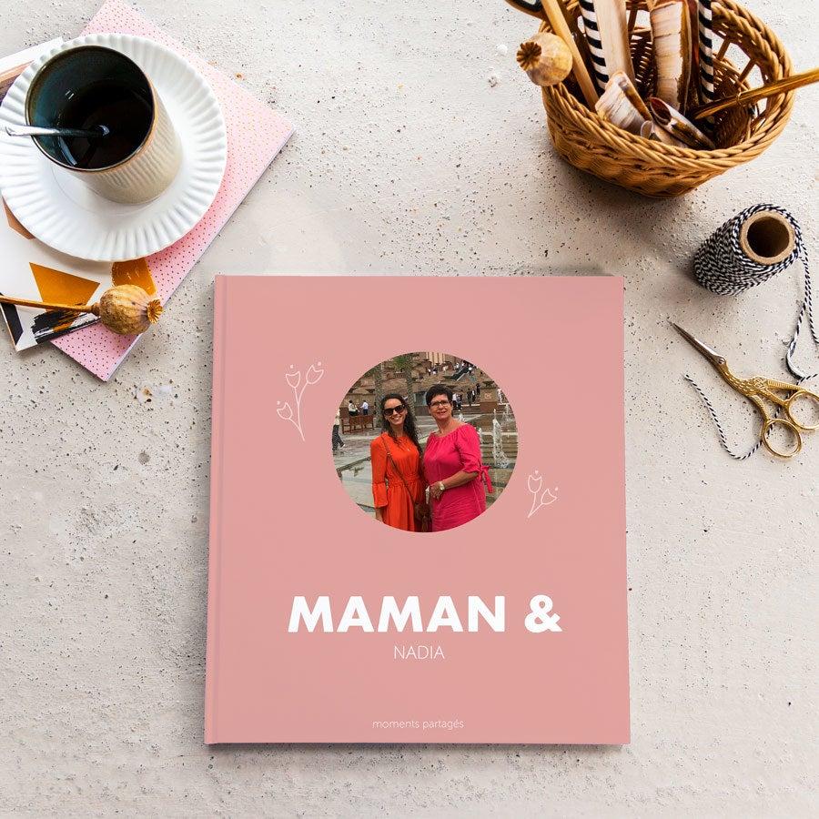 Album photo Fête des Mères - Maman & Moi - M - Couverture rigide - 40 pages