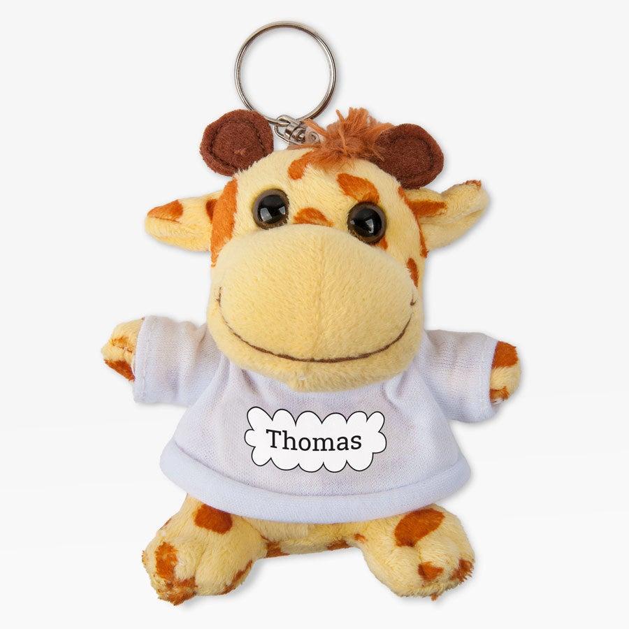 Giraf nøkkelring