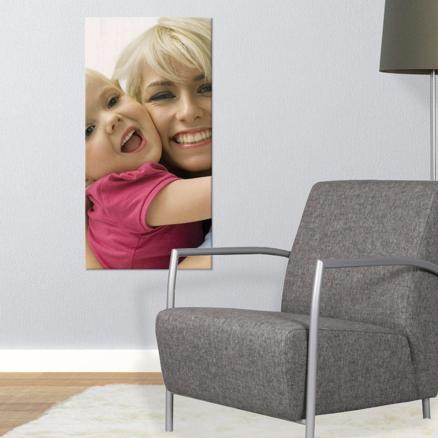 Puinen valokuvataulu (40x80cm)