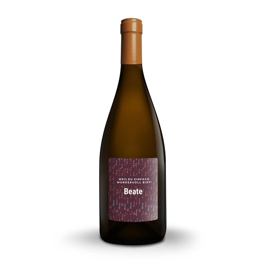 Weißwein - Salentein Primus Chardonnay - personalisierte Weinkiste - personalisiertes Etikett
