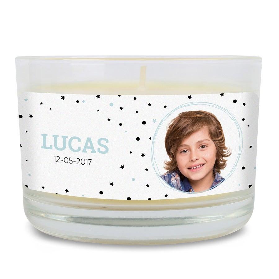 Hajustettu Bolsiuksen ehtoollinen kynttilä - vanilja