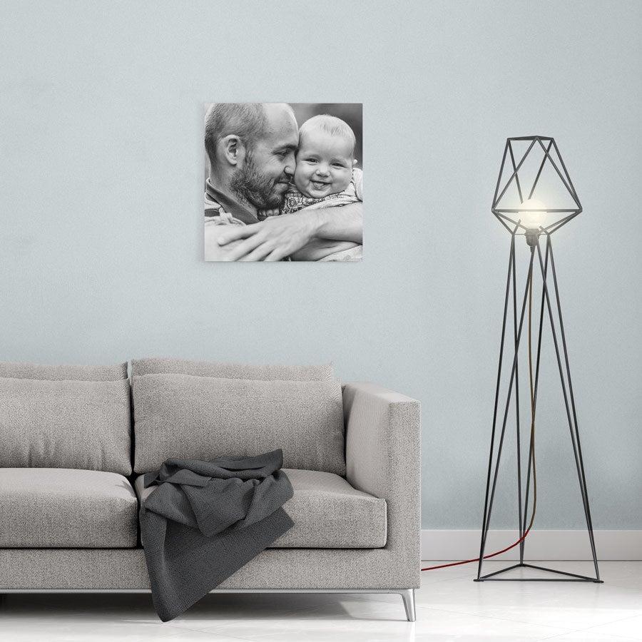 Canvas-taulu isälle - 40x40 cm