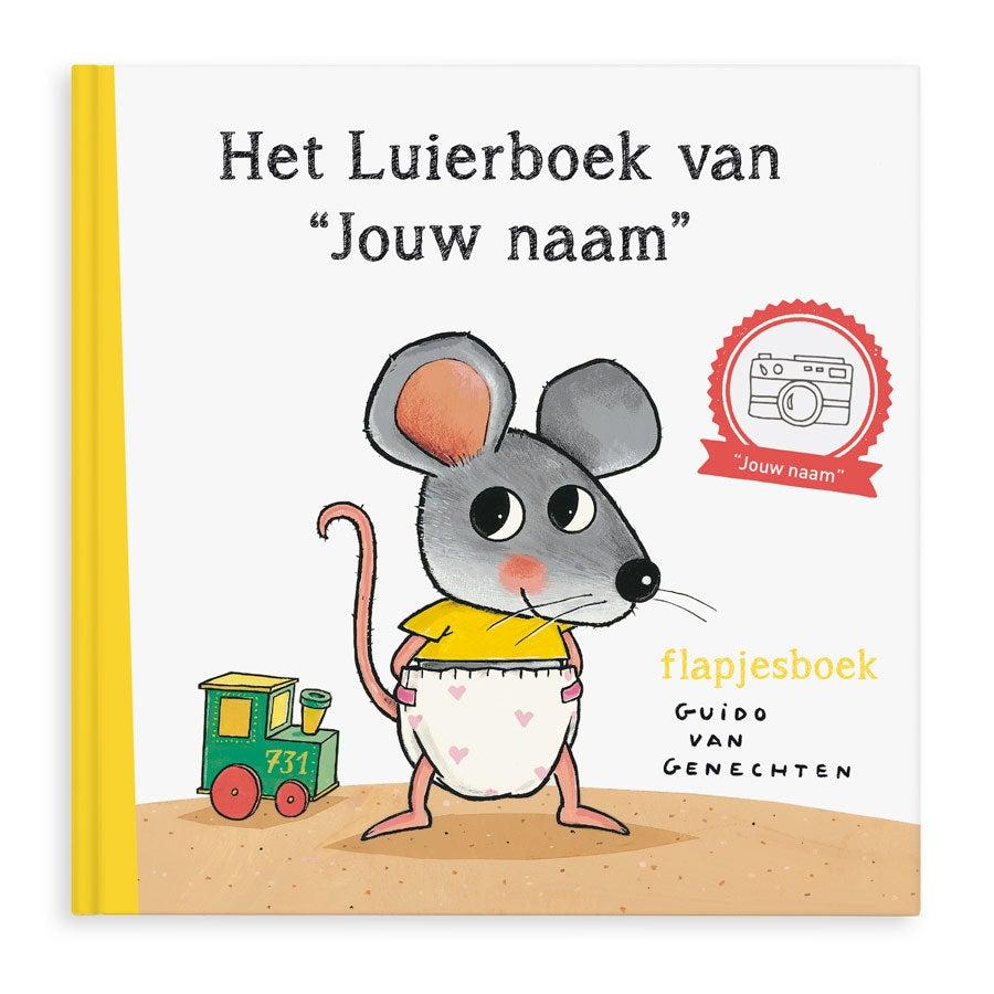 Boek met naam - Het Luierboek - XXL flapjesboek