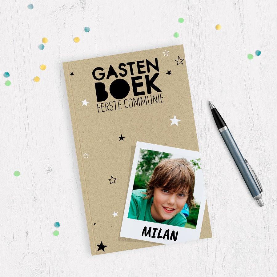 Communie gastenboek bedrukken - Softcover