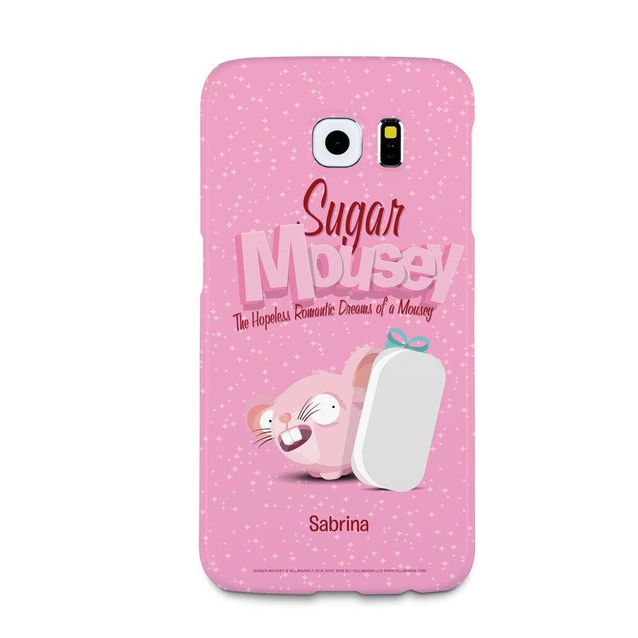 Capa de celular Sugar Mousey - Samsung Galaxy S6 - impressão 3D
