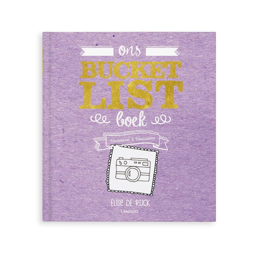Het Bucketlist boek voor opa's - Hardcover