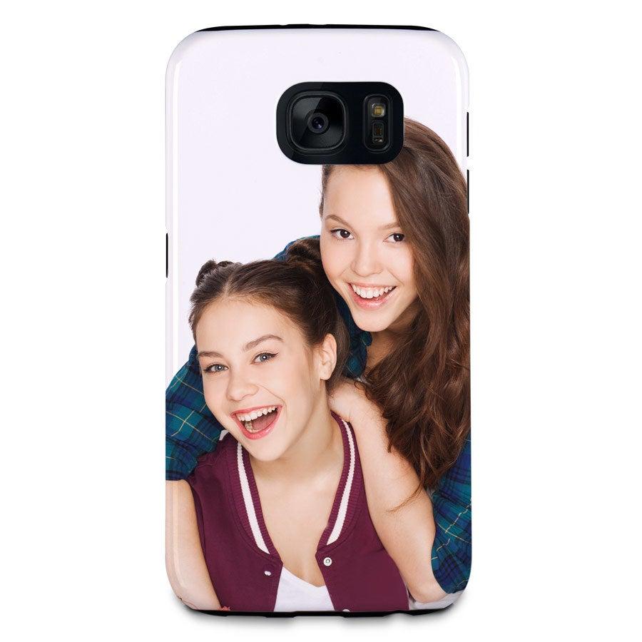 Smartphonehoesje bedrukken - Samsung Galaxy S7 - Tough case